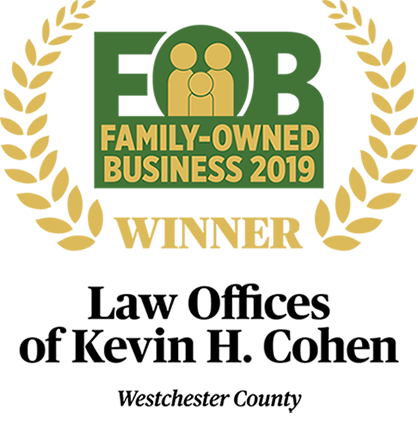 Law Offices of Kevin H. Cohen - Family-Owned Business 2019 Winner